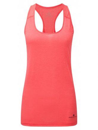 Damska koszulka do biegania Ronhill Wmn's Stride Racer Vest | Pink