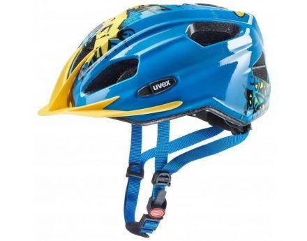 Uvex Quatro Junior | Blue-Yellow