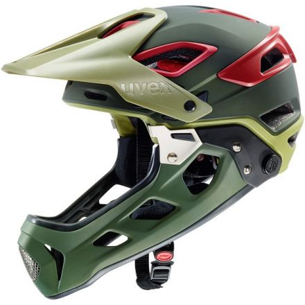 Uvex Jakkyl HDE | Olive Red Mat