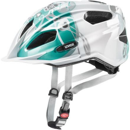 Uvex Quatro Junior | White Teal
