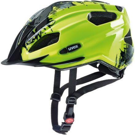 Uvex Quatro Junior | Neon Yellow Black