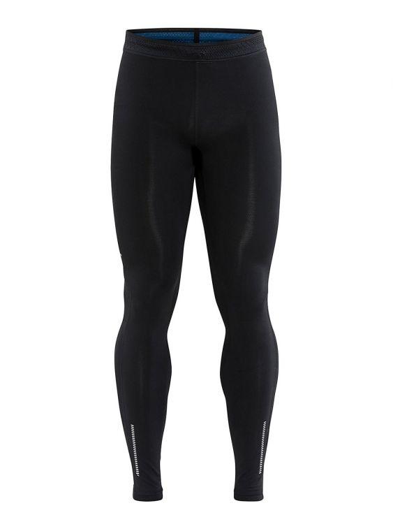 Craft Nanoweight Tights | CZARNE - męskie, długie spodnie do biegowe  1907009-999000