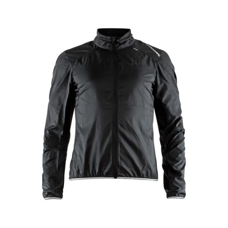 Craft Lithe JKT M | CZARNA - Męska ultralekka wiatrówka rowerowa 906086-999000