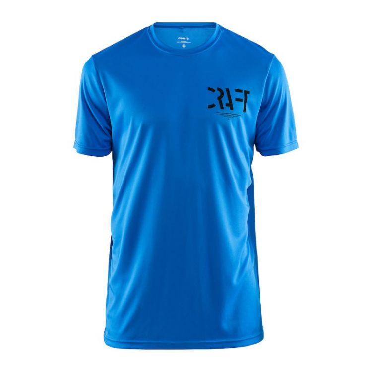 Craft Eaze SS Graphic Tee   NIEBIESKA - męska koszulka biegowa 1906034-356000