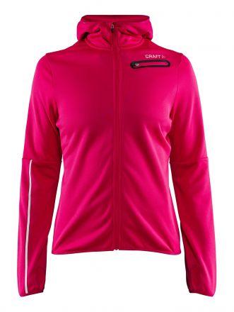 Craft Eaze Jersey Hood Jacket W   RÓŻOWA - damska bluza biegowa  1906033-735000