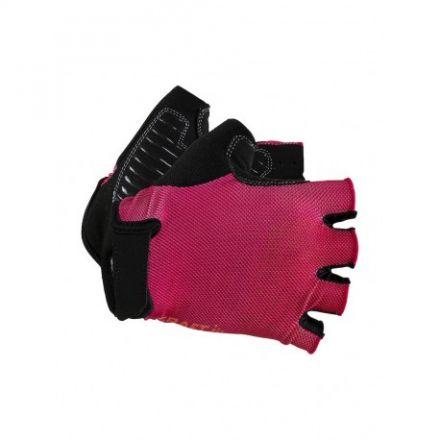 Craft GO Glove | CZARNO-RÓŻOWE