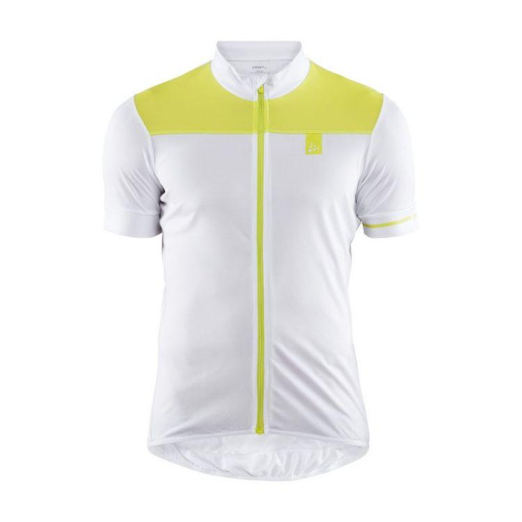 Craft Point Jersey | SZARO-CZARNA - Męska koszulka rowerowa 1906098-900611