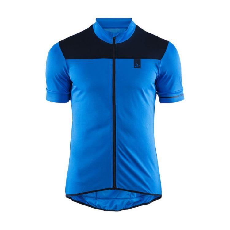 Craft Point Jersey | SZARO-CZARNA - Męska koszulka rowerowa 1906098-356396