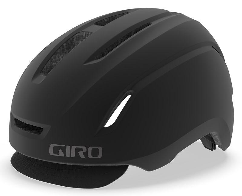 Giro Caden | Black miejski kask rowerowy