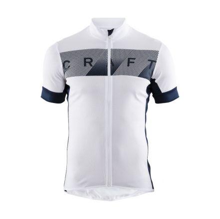 Craft Reel Jersey | BIAŁO-CZARNA - Męska koszulka rowerowa 1906096-900396