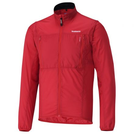 Shimano Hybrid Windbreak Jacket | CZERWONA