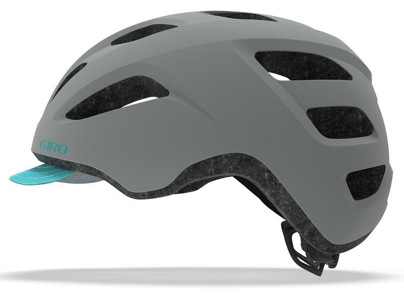 Giro Trella | Grey Dark Teal - miejski kask rowerowy