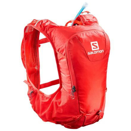 Plecak do biegania Salomon Skin Pro 10 Set | Fiery Red