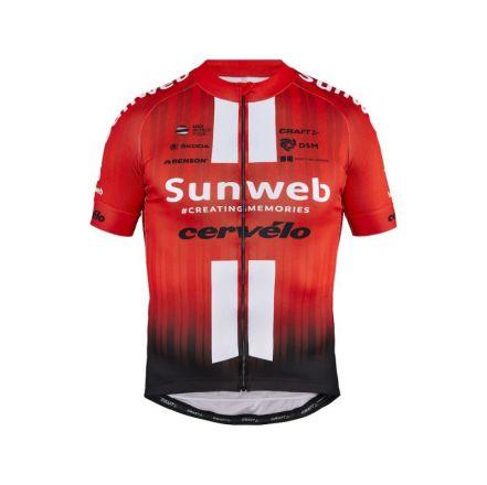Craft Sunweb Replica SS Jersey | CZERWONA