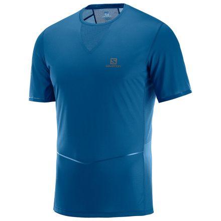 Salomon Sense Ultra Tee M | Poseidon koszulka do biegania