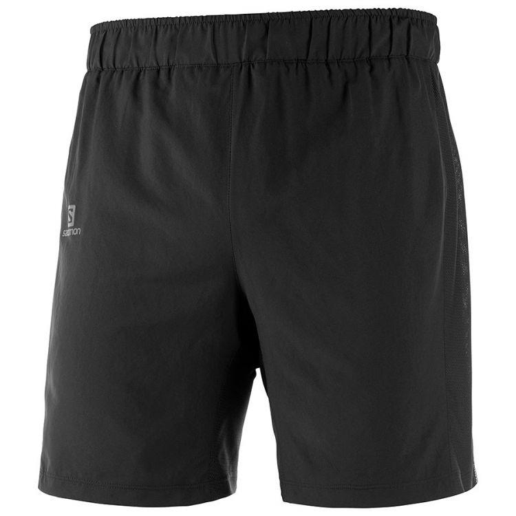 Salomon Agile 2in1 Short | Black Spodenki do biegania męskie