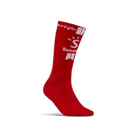 Craft Sunweb Bike Sock | CZERWONE
