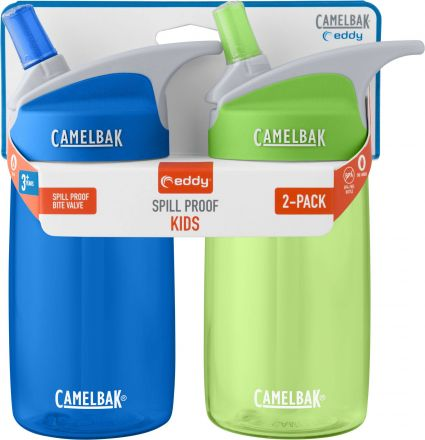 CamelBak Eddy Kids 400ml 2-pack Blue/Grass