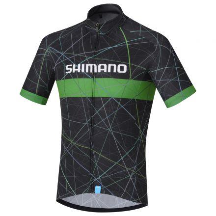 Shimano Team Jersey | CZARNO-ZIELONE