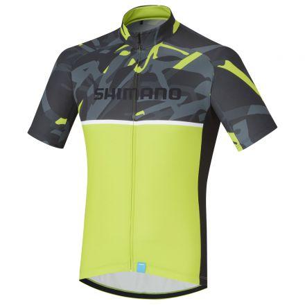 Shimano Team Jersey | CZARNO-ŻÓŁTY