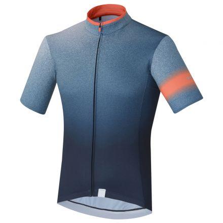 Shimano Mirror Cool Jersey | NAVY - męska koszulka rowerowa ECWJSPSSS31MN