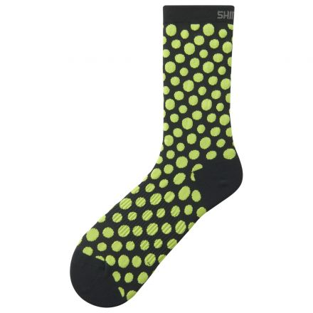 Shimano Original Tall Socks | BLACK-LIME