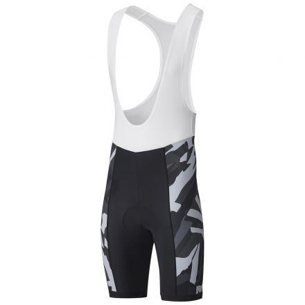 Shimano Team Bib Shorts | CZARNO-SZARE