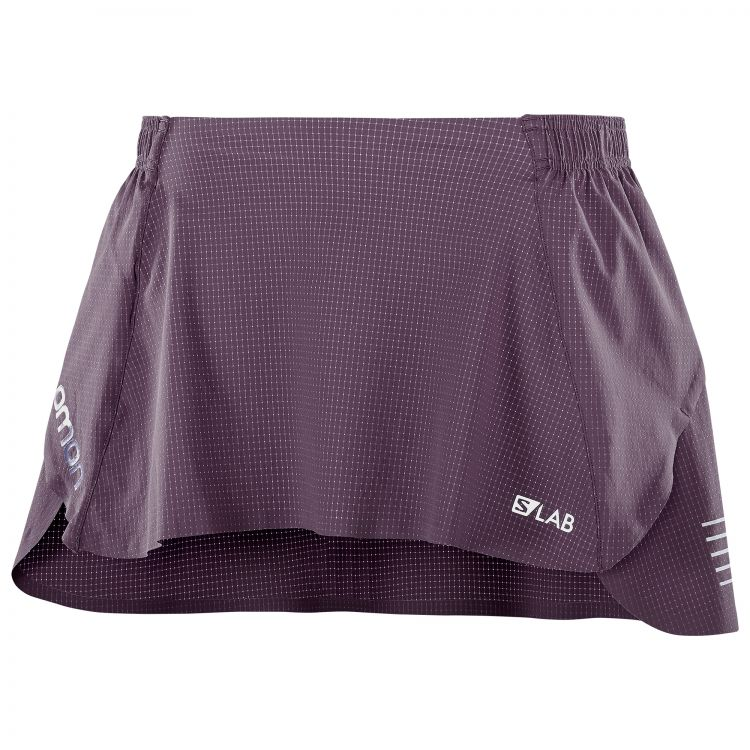 Salomon S-LAB Skirt W   FIOLETOWA - spódniczka do biegania 400861