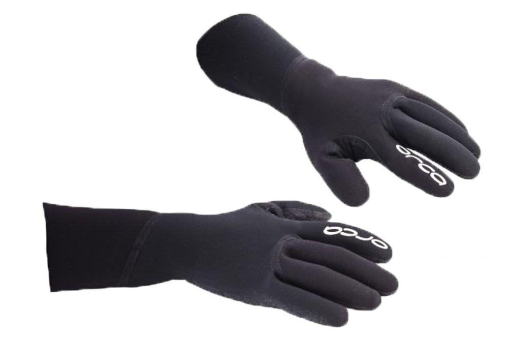 Orca Swim Gloves | CZARNE - neoprenowe rękawice do pływania