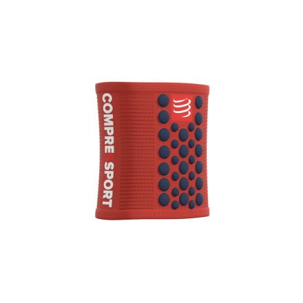 Compressport Sweat Bands | CZERWONE