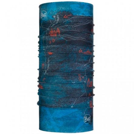 Buff  Coolnet UV+ El Camino De Santiago Peninsula Denim