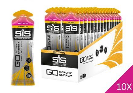 SIS GO Isotonic Gel 10x60ml - Sałatka Owocowa