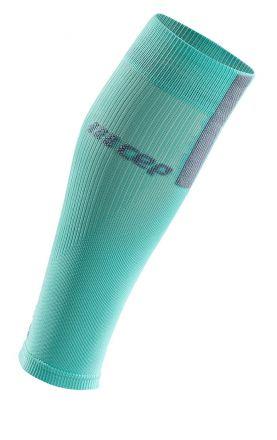 Cep Calf Sleeves 3.0 Men | BŁĘKITNE - męskie opaski kompresyjne na łydkę WS50FX
