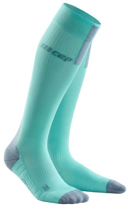 Cep Run Compression Socks 3.0 Women | BŁĘKITNE - damskie skarpety kompresyjne WP40FX