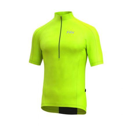 FDX HiViz Cycling Shirt | ŻÓŁTO - CZARNA