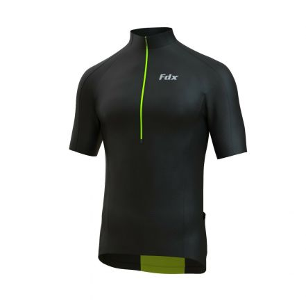 FDX HiViz Cycling Shirt | CZARNA