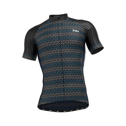 FDX RF Cycling Jersey | NIEBIESKA