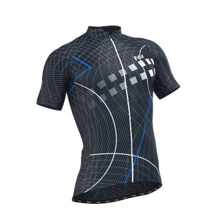 FDX Classic II Cycling Jersey | NIEBIESKA