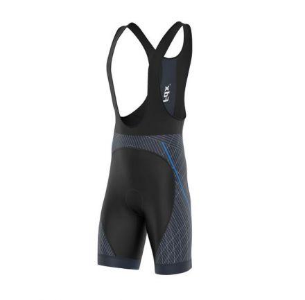 FDX Classic II Bib Shorts | CZARNO-NIEBIESKIE