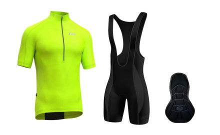 FDX HiViz Cycling Set