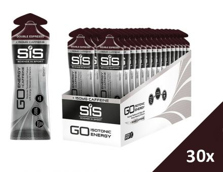 SiS GO Energy +Caffeine Gel [30x60ml] - Double Espresso