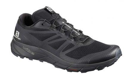 Salomon Sense Ride 2   Black/Phantom - męskie buty do biegania
