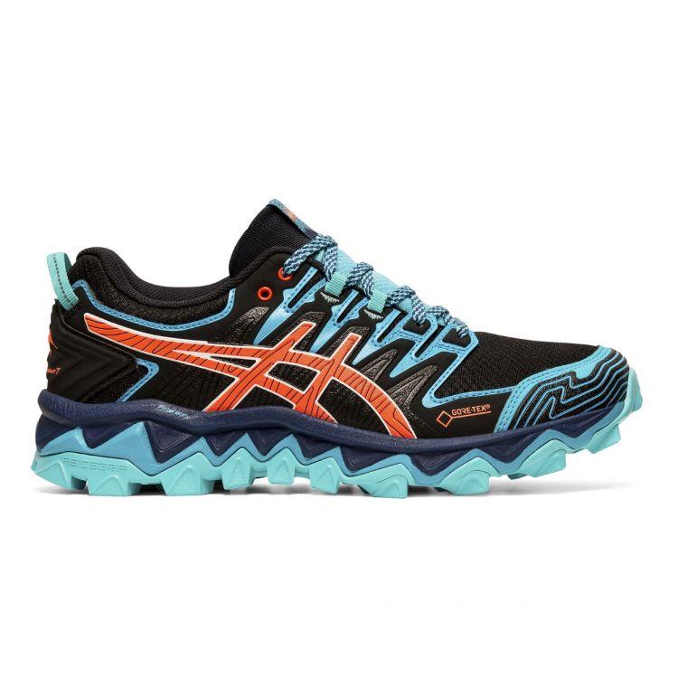Asics Gel Fujitrabuco 7 G-TX- wodoodporne damskie buty do biegania w terenie 1012A190-002
