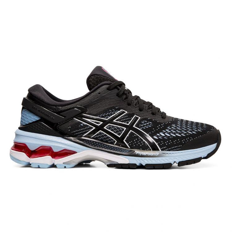 Asics Gel-Kayano 26 - dobrze zamortyzowane damskie buty do biegania 1012A457-003