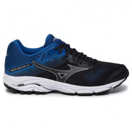 Mizuno Wave Inspire 15 | CZARNO-NIEBIESKIE - męskie buty do biegania  J1GC194421