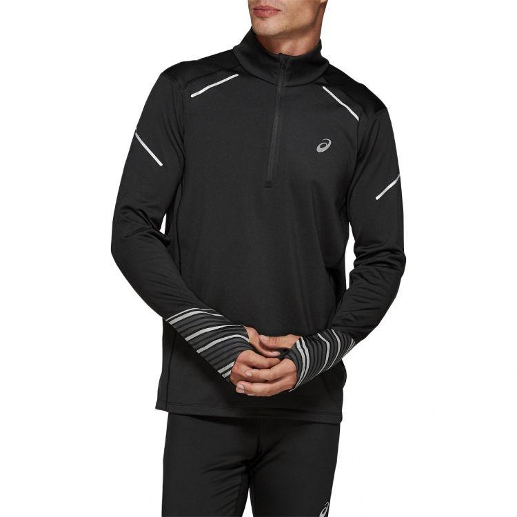 Asics Lite-Show 2 Winter LS 1/2 Zip Top - ciepła męska bluza biegowa  2011A448-001