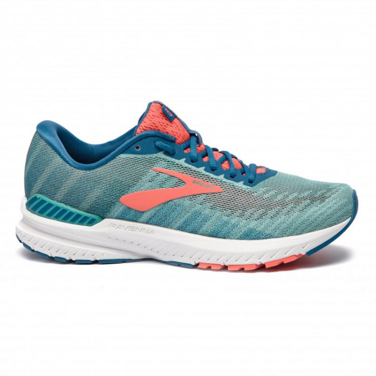Brooks Ravenna 10 | LATIGO/CORAL/BLUE - damskie buty do biegania 120286-1B-376