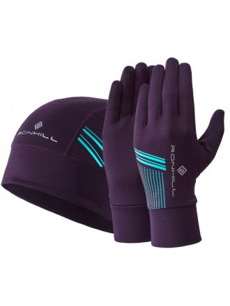 Ronhill Beanie & Glove Set - zestaw rękawiczki plus czapka