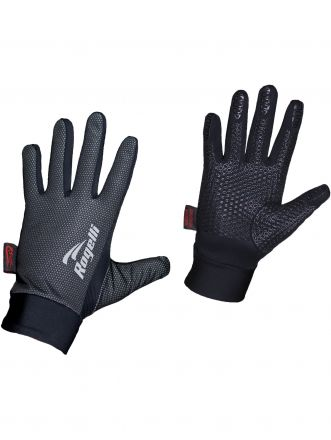 Rogelli Windproof Gloves Laval | CZARNE