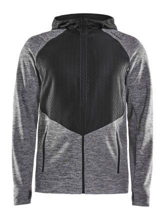 Craft Charge FZ Sweat Hood Jacket M  - bardzo ciepła, męska bluza biegowa 1907722-975999